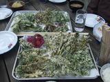カラッと山菜天ぷら